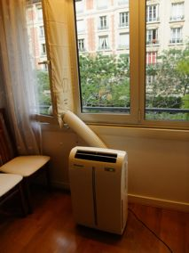 Test climatiseur duracraft amd 8500e et supra stop air pm for Calfeutrage fenetre climatisation mobile
